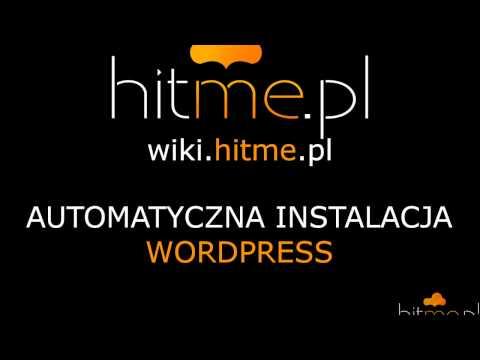 Automatyczna instalacja WordPress