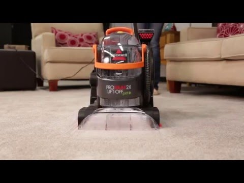 Lift Off Upright Carpet Cleaner Spraying Fix