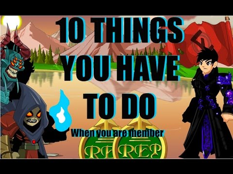 AQW - 10 THINGS YOU HAVE TO DO WHEN MEMBER!!! - Thủ thuật máy tính