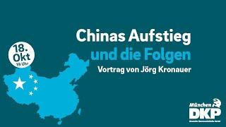 Chinas Aufstieg und die Folgen | Veranstaltung mit Jörg Kronauer