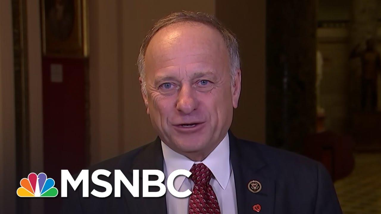 Rep. Steve King Could Pursue Iowa Governor Position | Morning Joe | MSNBC thumbnail