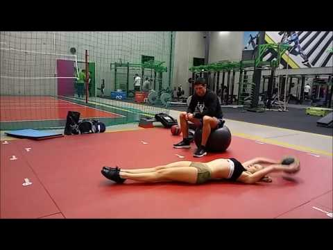 Hiperprzeprostna w mięśniach pośladków dla kobiet