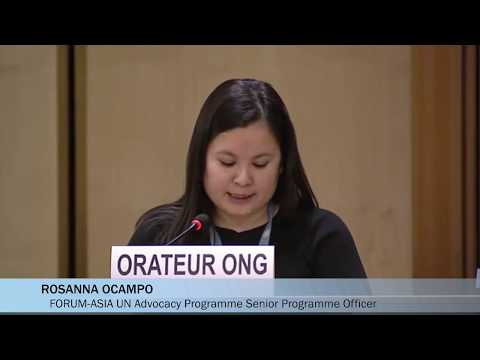 HRC43: Adoption of Universal Periodic Review Outcomes of Kazakhstan