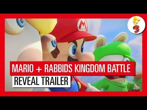 《瑪利歐+ 瘋狂兔子王國大戰》首波預告公開!