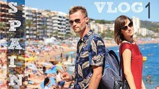 *ИСПАНИЯ* наше путешествие, пляжи Lloret-de-mar, часть1