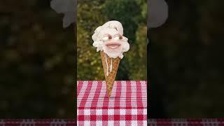Annoying Orange vs Ice Cream Cone #Shorts