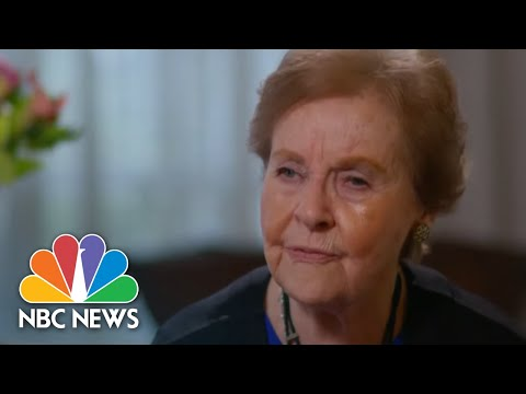 Holocaust Survivors Share Their Stories Virtually To Educate Younger Generations | NBC Nightly News