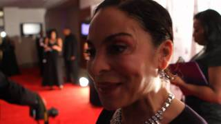 Jasmine Guy on The Red Carpet 'This Christmas'