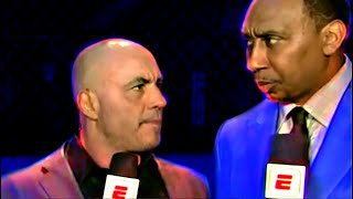 Stephen A Smith Annoying Joe Rogan for 13 Minutes | Conor McGregors Comeback