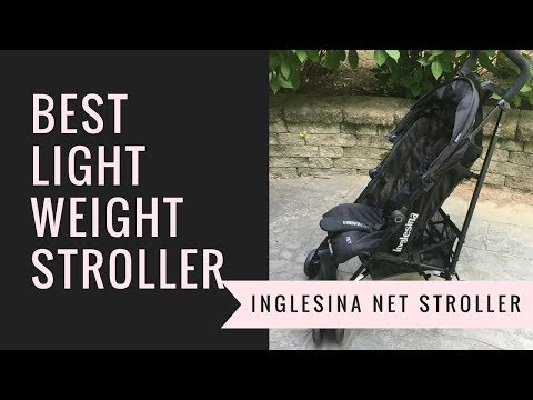 BEST Lightweight Umbrella Stroller!!! Inglesina Net Review