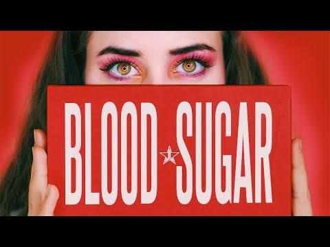JEFFREE STAR Blood Sugar Palette Review   Wheesearch