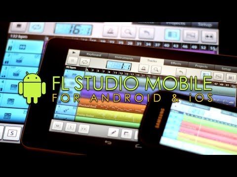 FL Studio Mobile wideo