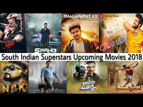 Download South Indian Superstars Upcoming Movies 2018 | Kaala | NGK | Viswasam | Saaho | Bharath Ane Nenu Mp4 HD Video and MP3