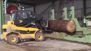 World Amazing Modern Mega Machines Heavy Equipment Unusual Woodwork Sawmill Wood Cleaver Saw CNC