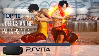 Top 10 Ps Vita Anime Games