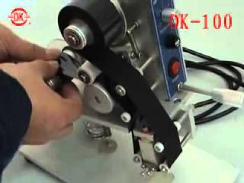 Codificador Manual de Impresión Térmica HP-30