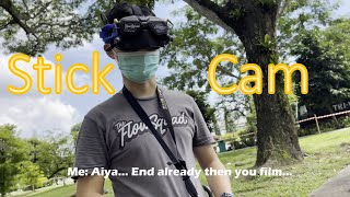 My First Stick Cam Video - One Pack FPV Freestyle - No stabilisation