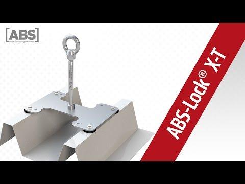 Présentation vidéo compacte concernant le point d'ancrage ABS-Lock X-T