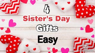 4 Amazing DIY Sisters Day Gift Ideas During Quarantine | Sisters Day Gifts | Sisters Day Gifts 2020
