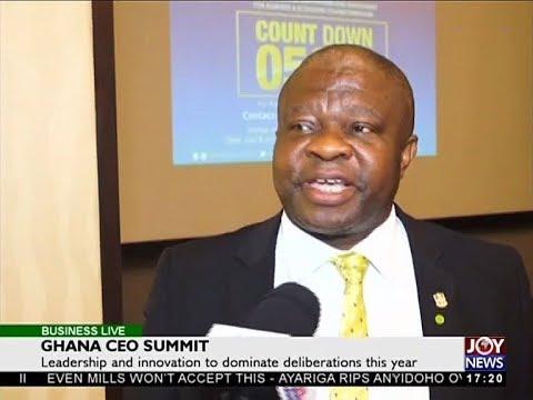 Ghana CEO Summit   Business Live on JoyNews 28 3 18