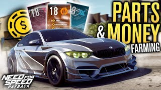 ULTIMATE PART TOKENS & MONEY GUIDE | Need for Speed Payback (Easy 65k+ in 2 Mins)