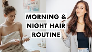 Morning and Night Routine for Healthy Hair | Luxy Hair