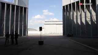 Video zur Lärmschutzhalle am Flughafen Zürich von G+H Noise Control