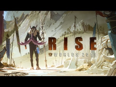 Download RISE (ft. The Glitch Mob, Mako, and The Word Alive) | Worlds 2018 - League of Legends