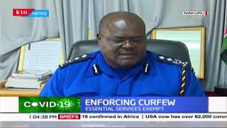 Enforcing curfew: Situation in Nakuru as curfew expected to commence today