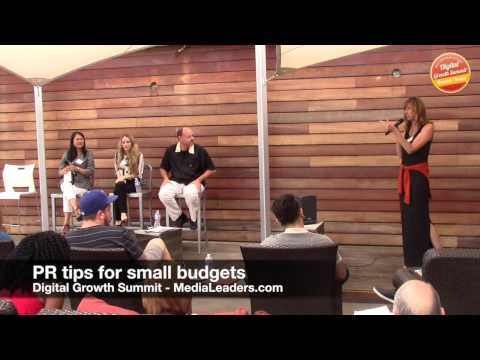 PR tips for small budgets