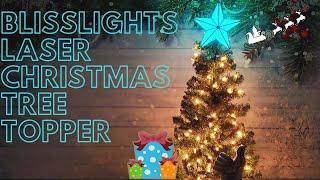 BlissLights Laser Christmas Tree Topper