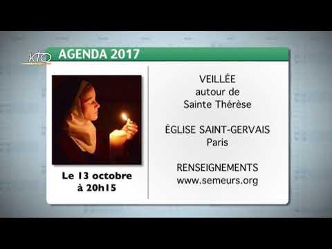 Agenda du 25 septembre 2017