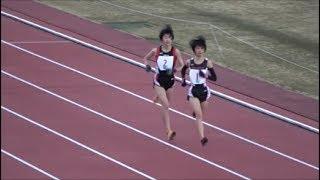 群馬県ジュニア・ロードレース2018中学女子2・3年3km