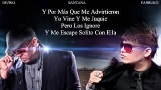 """Santana Ft. Farruko  Divino - """"La Rompe Corazones"""" con Letra ◄REGGAETON► NEW ® 2012"""