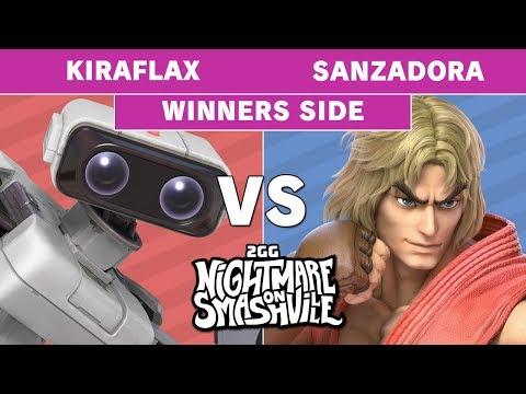 2GG NoS - Kiraflax (ROB) Vs Sanzadora (Ken) Winners Pools - Smash Ultimate