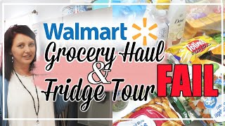 GROCERY HAUL ON A BUDGET | WALMART GROCERY DELIVERY FAIL | HEALTHY FAMILY GROCERY HAUL