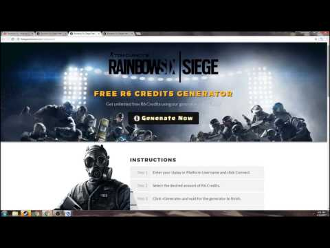 Psa If You Didn T Know Already R6 Credit Generators Are Fake Tom Clancy S Rainbow Six Siege Discusiones Generales