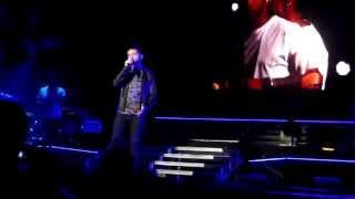 Christina Grimme - The Voice Tour 2014 - Every Breath You Take #PrayForChristina