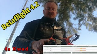 Betaflight 4.2 on a 4s drone #Take 2 | Fpv Freestyle????
