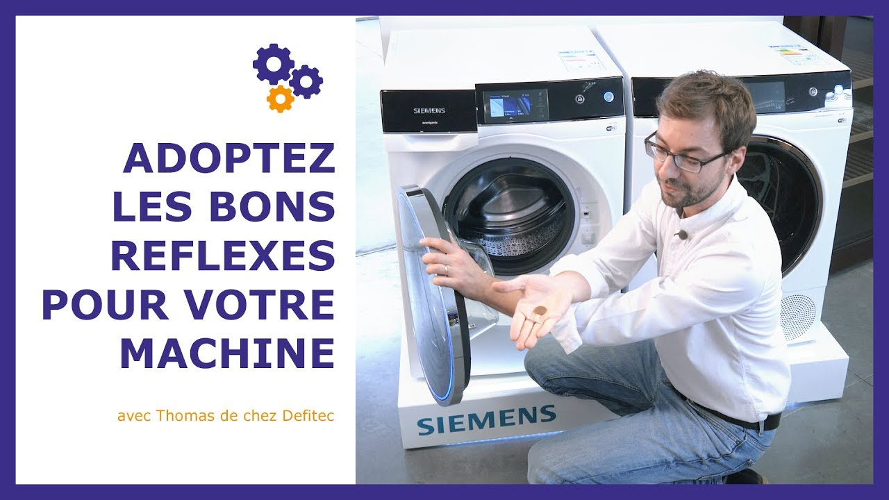 Il fait ça après chaque lessive... 3 gestes simples pour prendre soin de son lave-linge