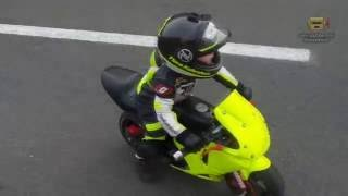 3-летний  Tima Kuleshov отжигает на мотоцикле