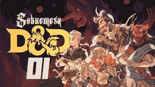 DRAGOLÍCIA: COMIDA & DESCANSO (feat. Mikannn & Tengu) | RPG (D&D) Ep.1 | Sobremesa