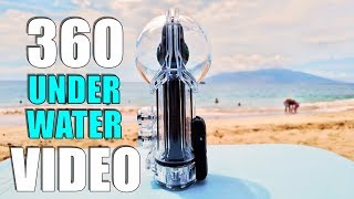 Insta360 One X DIVE CASE Review - Underwater 360 VIDEO Rated to100 Feet Deep