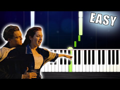 Titanic Theme - EASY Piano Tutorial by PlutaX
