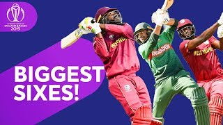 Biggest Sixes! | 2019 Cricket World Cup Biggest Sixes So Far | ICC Cricket World Cup 2019