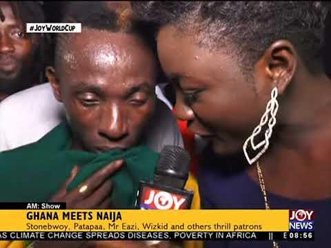 Ghana Meets Naija - AM Showbiz on JoyNews (11-6-18)