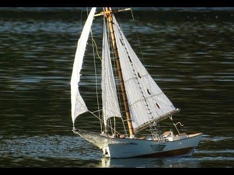 Scale Modellsegler Nobile Rennkutter RC Segelschiff Scratch- build