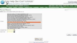 Easy Help Zen Cart Tutorial: How to Create a Featured product