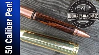 50 Caliber Bullet Pen