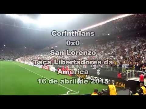 Veja a festa da Fiel contra o San Lorenzo no recorde de público da Arena Corinthians